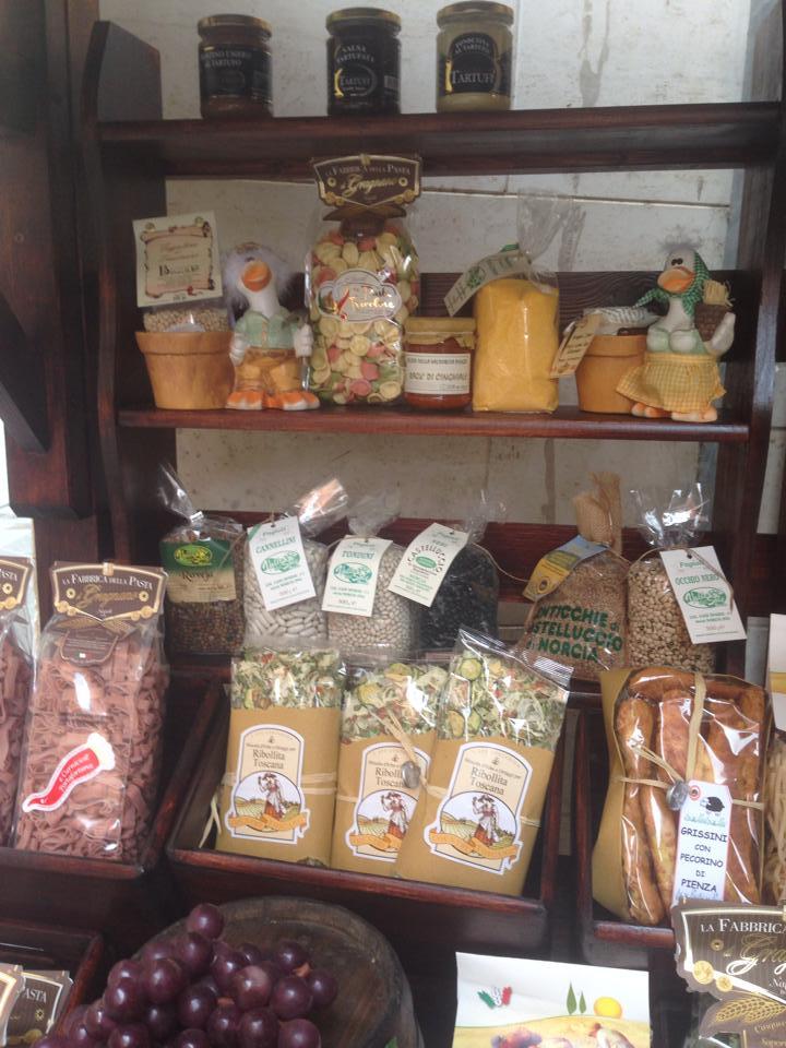 vendita prodotti tipici a castiglione del lago