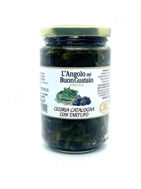 Cicoria catalogna con tartufo - Angolo del Buongustaio - Castiglione del Lago