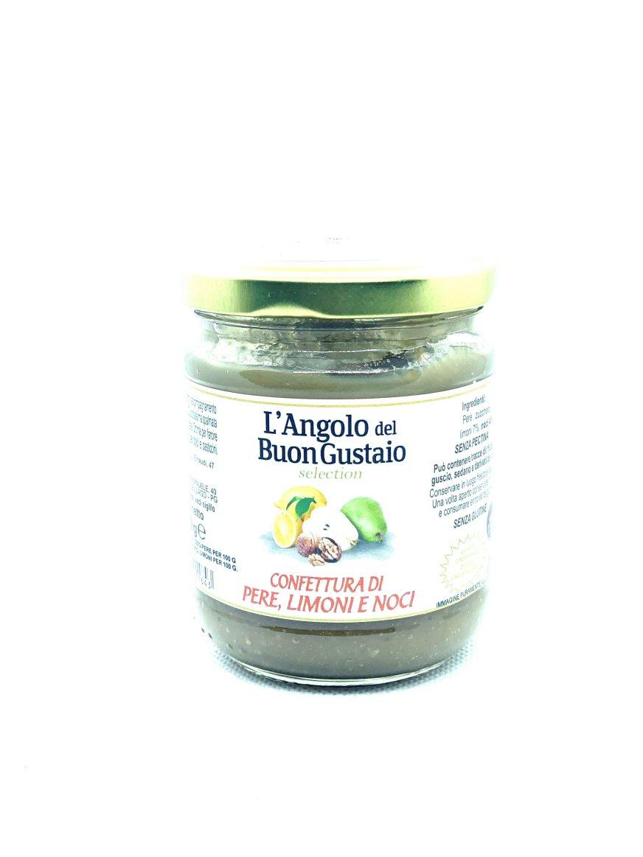 Confettura di Pere limone e noci - Angolo del Buongustaio - Castiglione del Lago